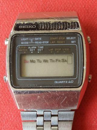 Reloj Seiko años 80 averiado