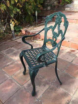 Cadira ferro // Silla hierro