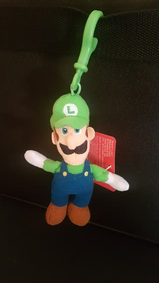 Luigi Mario Bros peluche llavero nuevo oficial