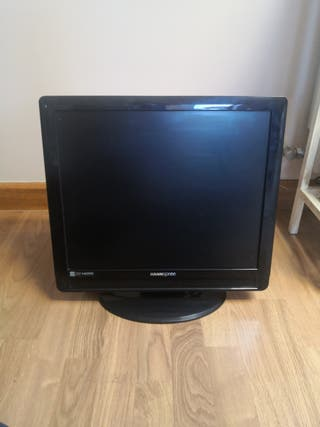 Tv lcd 19'' cuadrada Hannspree