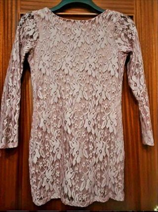 vestido de encaje de fiesta