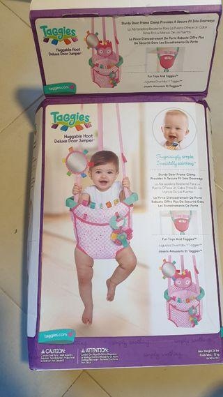 saltador para puertas para bebes