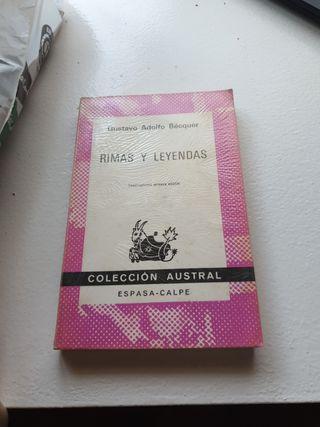 libro de rimas y leyendas