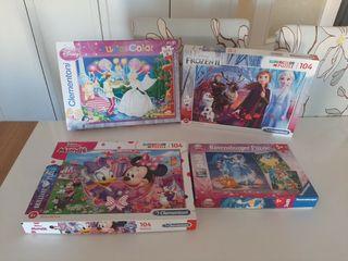 increíble lote de puzzles