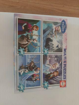 Multi juego de 4 puzzles