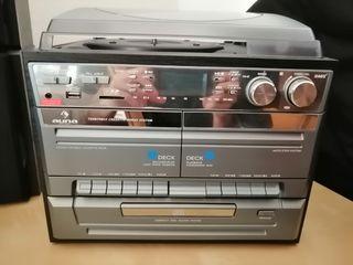 MINICADENA (VINILO, CD, CASSETTE, MP3, RADIO,..)