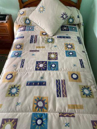 Edredón cama 90