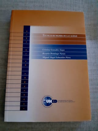 """Libro """"Técnicas de mejora de la calidad"""""""
