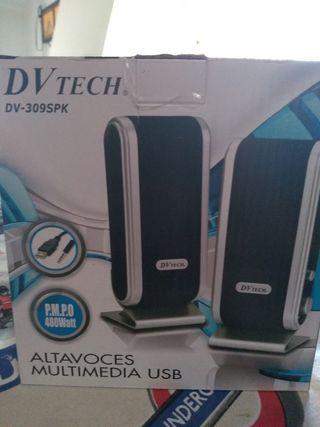 altavoces multimedia