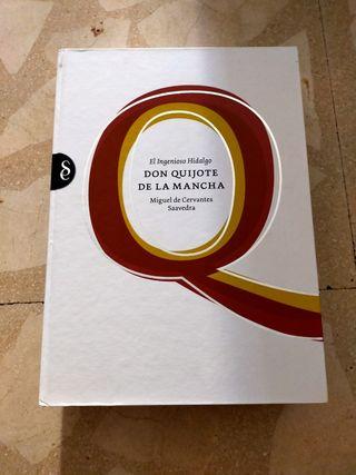 Libro de el Quijote de la mancha signo editores