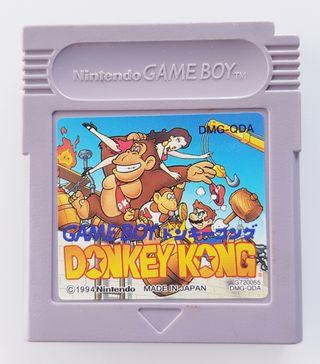 Donkey Kong GameBoy Nintendo