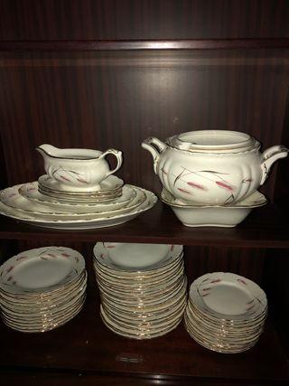 Vajilla de porcelana Royal China