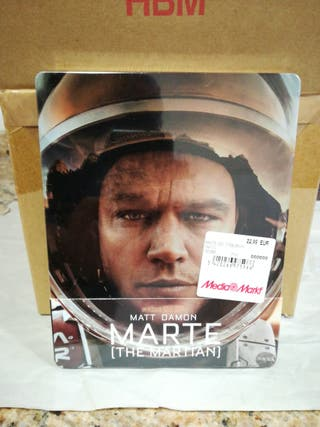 Marte STEELBOOK Bluray 3D + Bluray