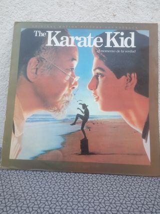 vinilo BSO Karate kid