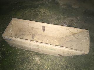 Pieza de madera antigua
