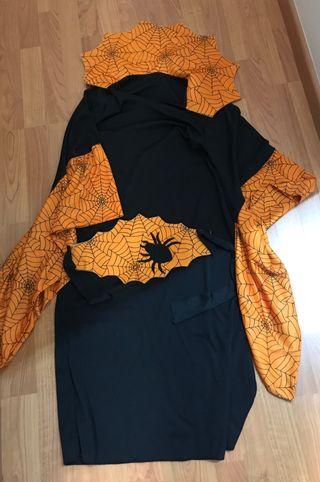 Disfraz Halloween mujer araña