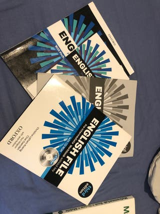 Libros inglés A2/B1 Oxford (libros EOI)