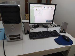 ordenador sobremesa Dell pentium 4