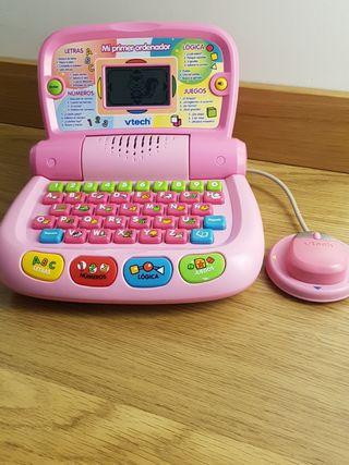Mi primer ordenador Vtech.