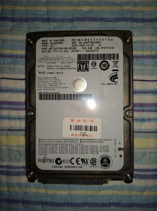 Disco duro SATA 2.5 - FUJITSU - TOSHIBA 500GB