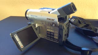 videocamara sony handycam dcr-dvd201e sin bateria