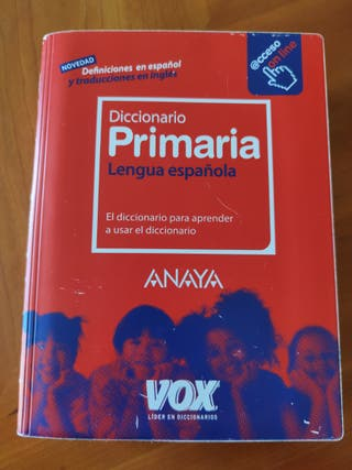 Diccionario de Primaria. Lengua española.