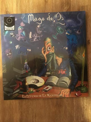Disco vinilo Mago de Oz Doble Lp+CD precinta