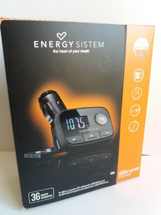 MP3 TRANSMISOR FM para coches-camiones ENERGY SYST