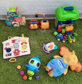 Juguetes de bebé educativos y divertidos