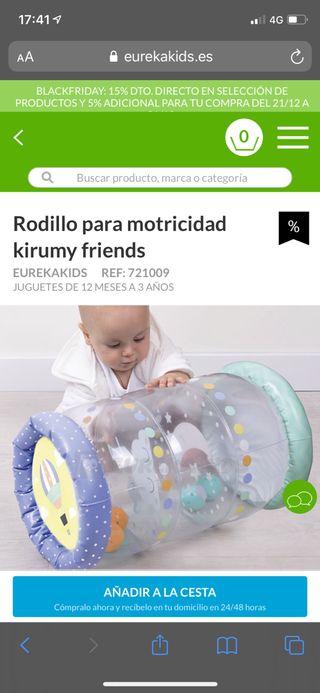 Rodillo para motricidad kirumy friends