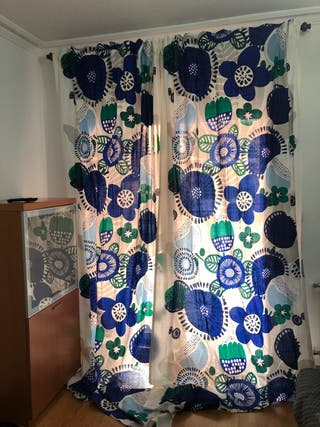 Par de cortinas Ikea