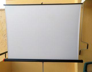 Pantalla proyección diapositivas 1.50 x 1.50 m
