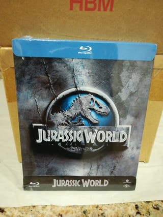 Jurassic World STEELBOOK Bluray