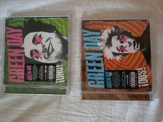 disco Green day, Adele, Bruno mars y maldita nerea