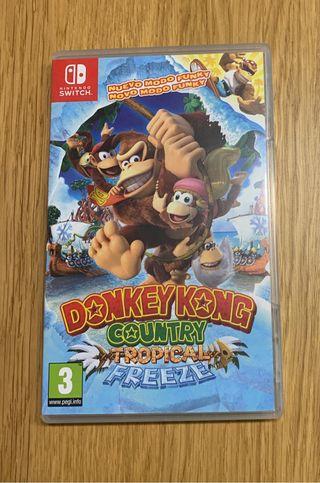 Donkey Kong Tropical Freeze Switch