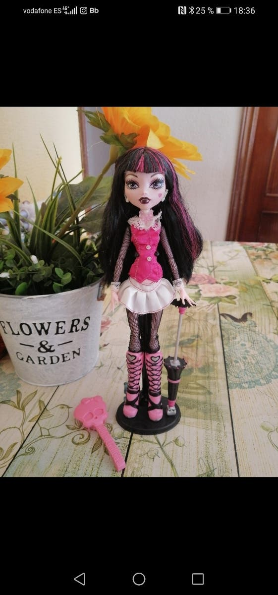 Monster High Draculaura 1ª edición