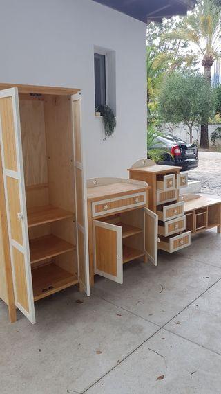 conjunto muebles infantil