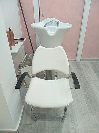 lavacabezas peluquería