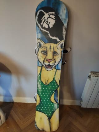 tabla snowboard 154