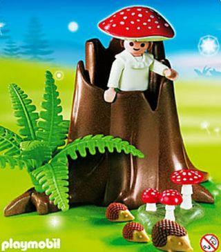 Playmobil NIÑO SETA REF.4194 . SIN CAJA