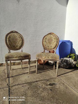 Sillas vintage Isabelinas