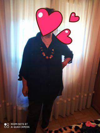Camisa y collar