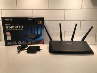 Router neutro ASUS AC87U - BlackFriday