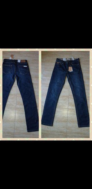 Estrenar T W32 Springfield jeans elástico hombre