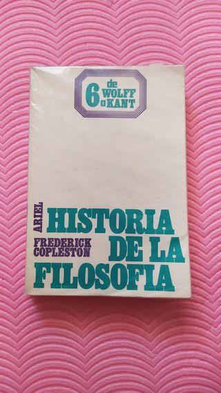 Copleston - Historia de la Filosofía. De Wolff a K