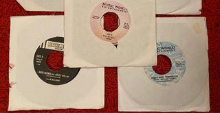 Lote vinilos dancehall 45 rpm