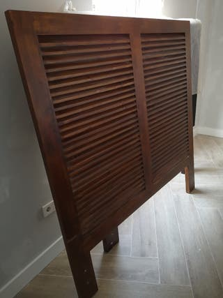 Cabecero 150cm madera natural
