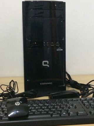 Ordenador HP Compaq con windows 10.