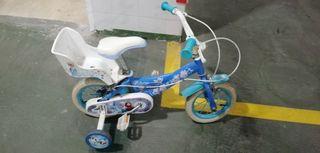 bicicleta niño y niña