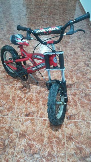 bicicleta pequeña Fat Bike